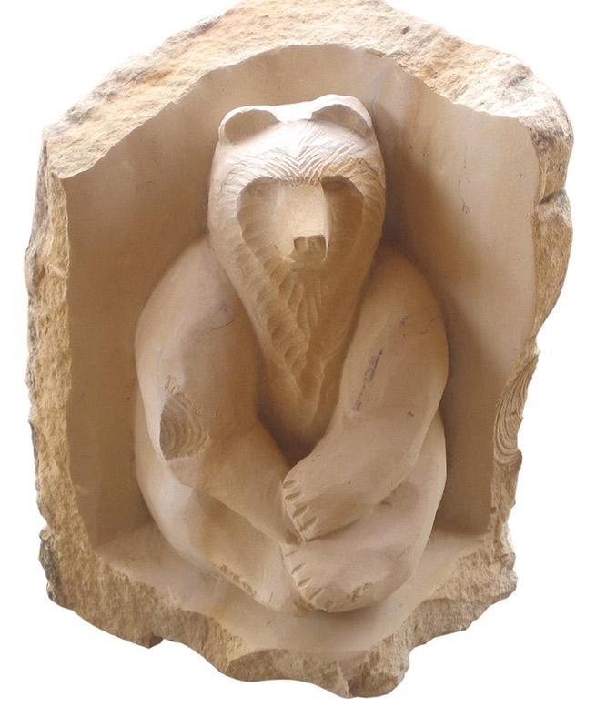 Carved bear eddit morrison