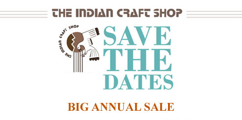 Indian Craft Shop Annual Sale - February 12-21, 2015